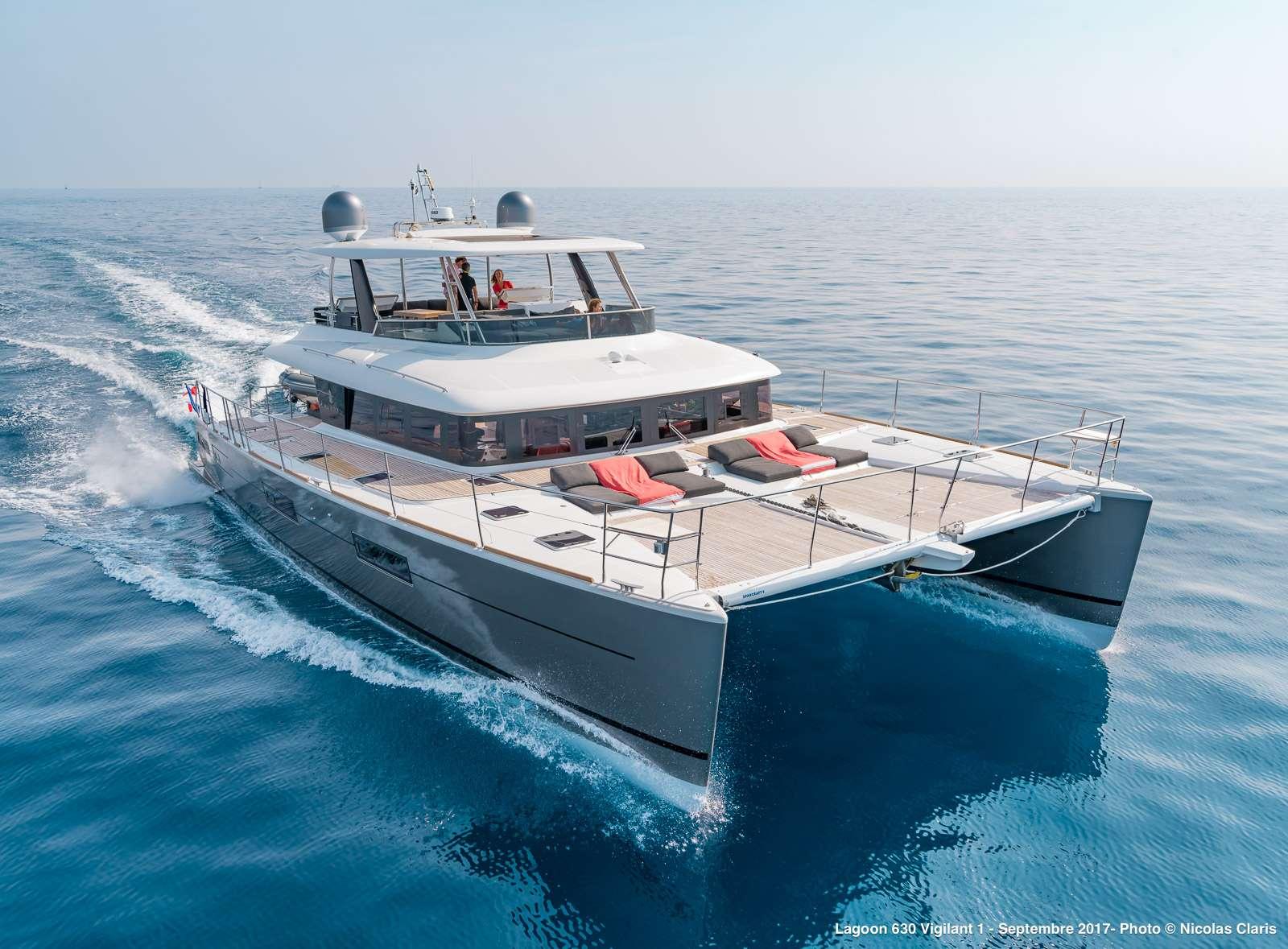 Catamaran Charter Vigilant 1