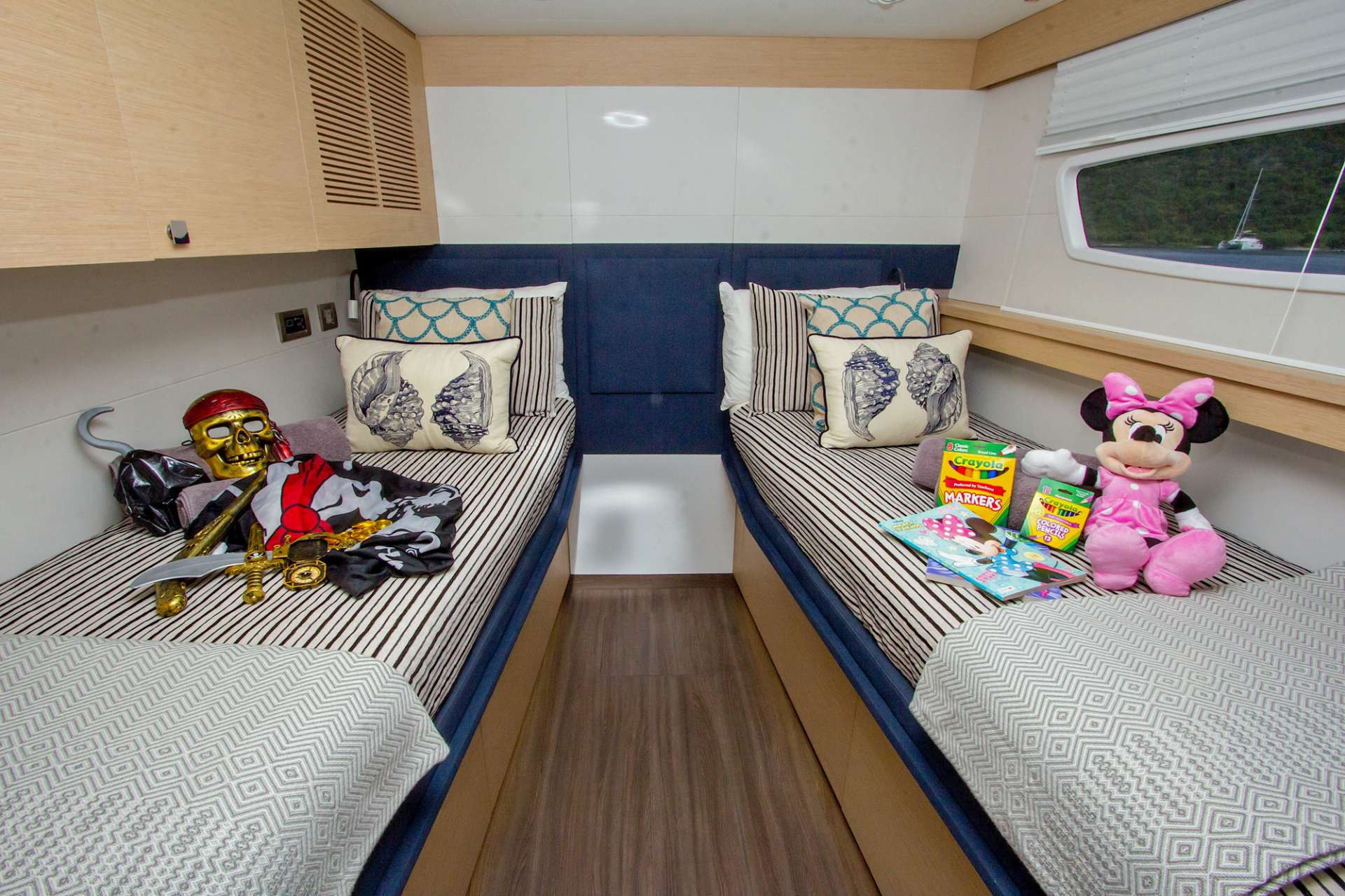 Cabin Conversion for the kids!