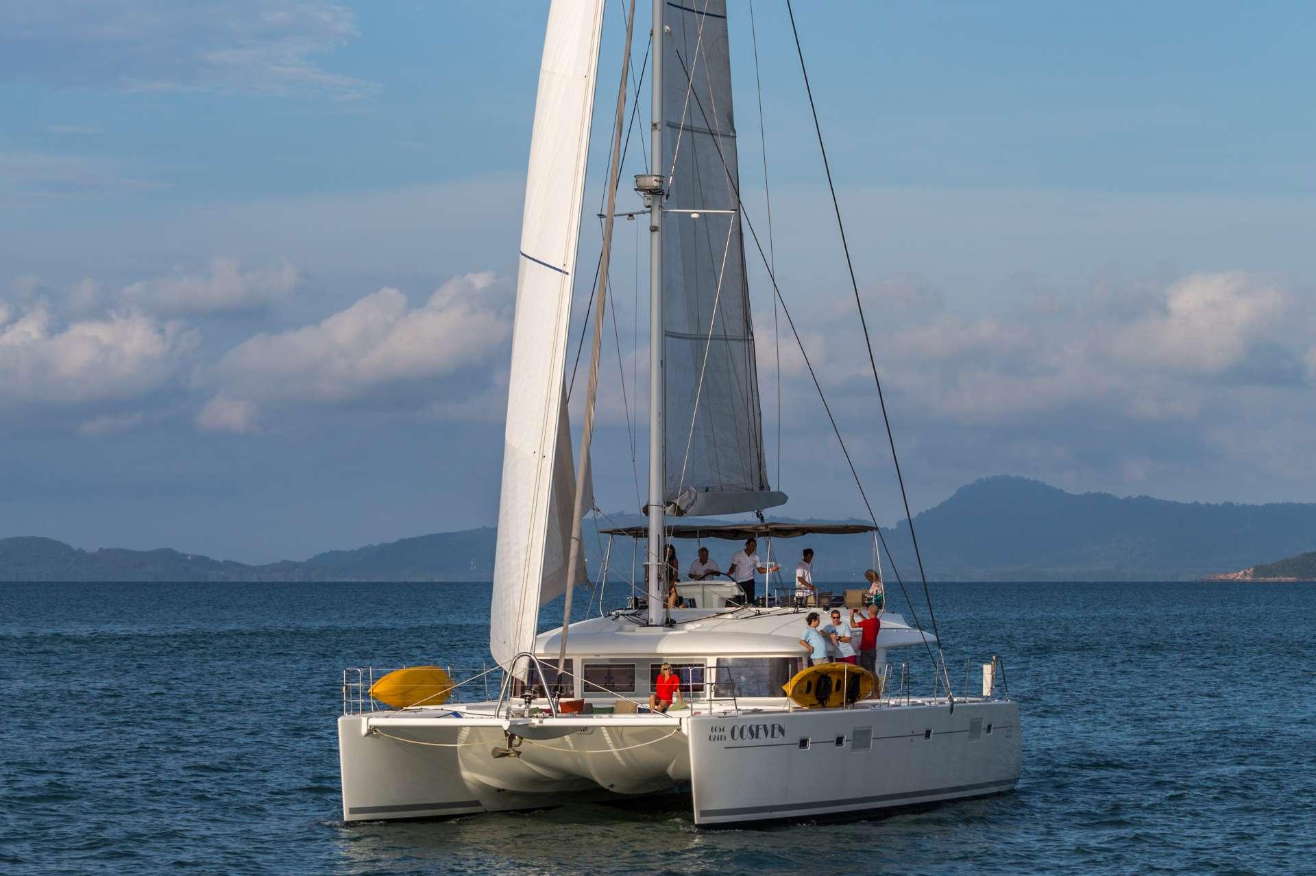 Catamaran Charter Seven