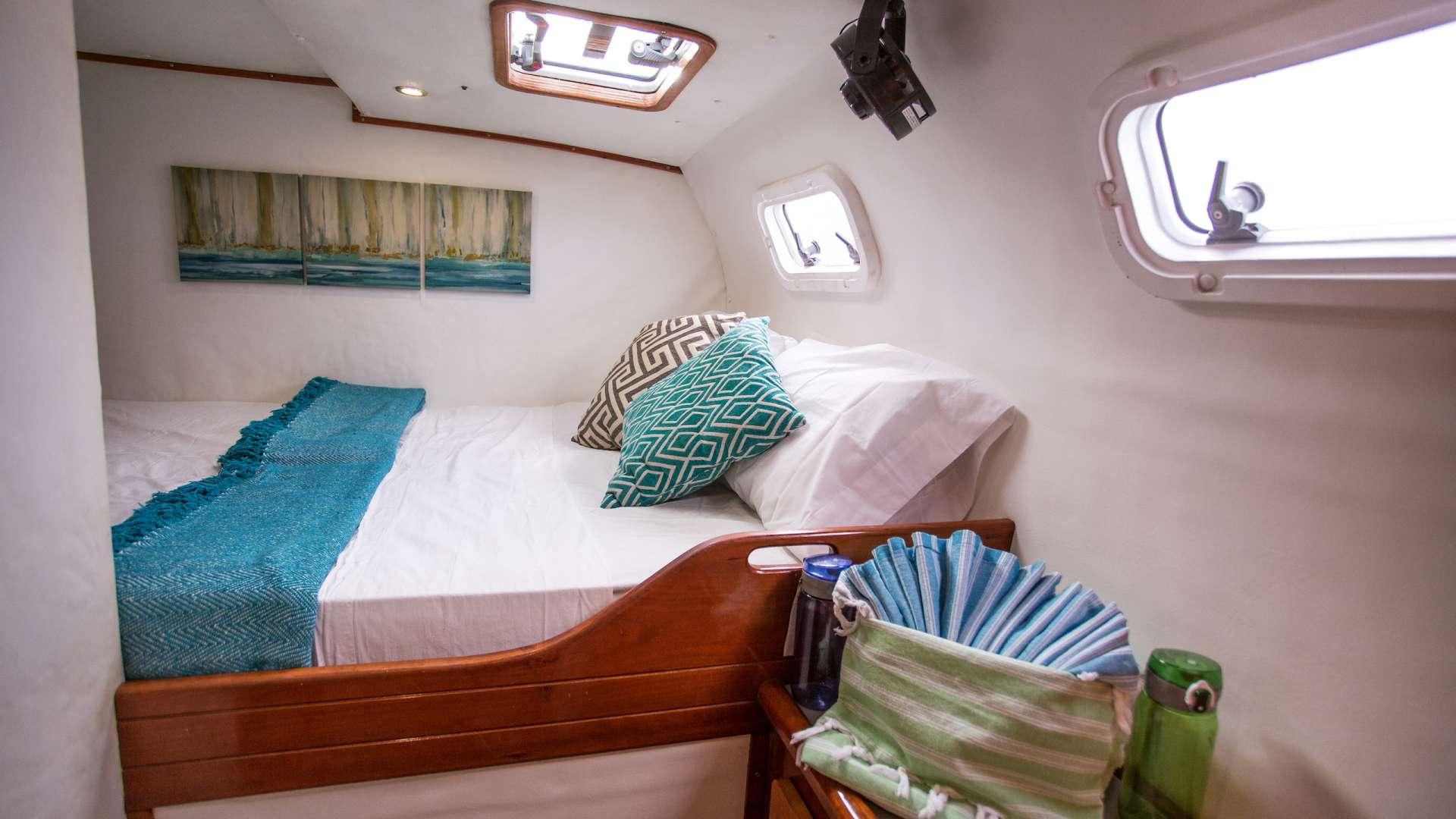 Aft port queen cabin