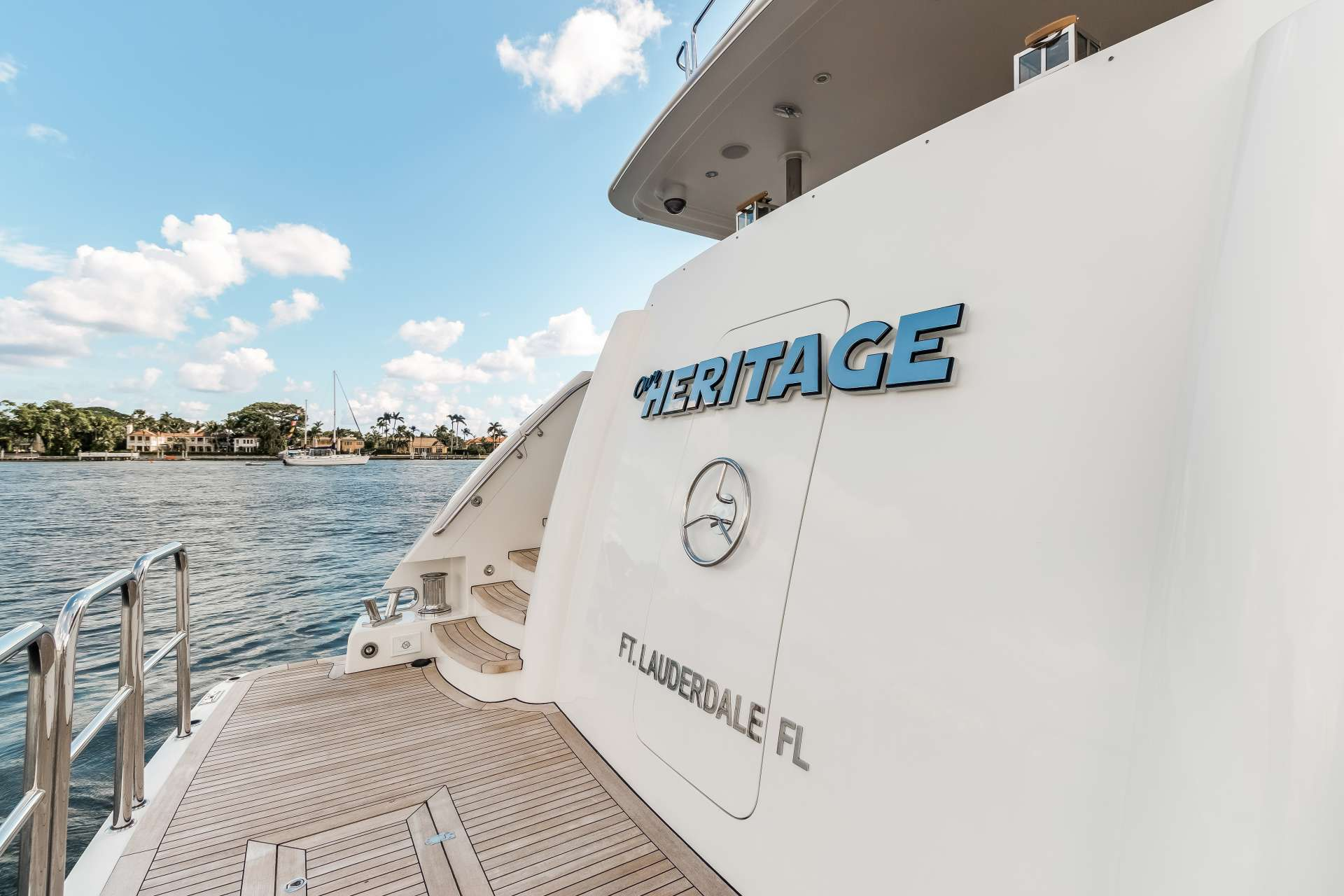 motor yacht OUR HERITAGE