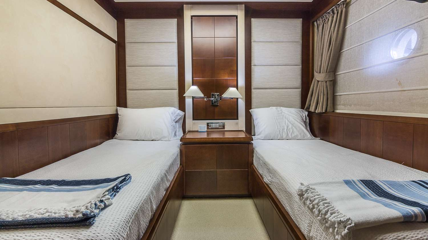 Port Guest Twin Stateroom