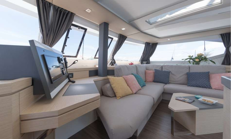 Saloon Area from Galley