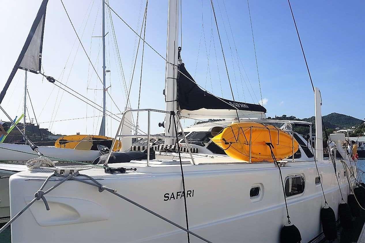 Sailing Yacht Safari
