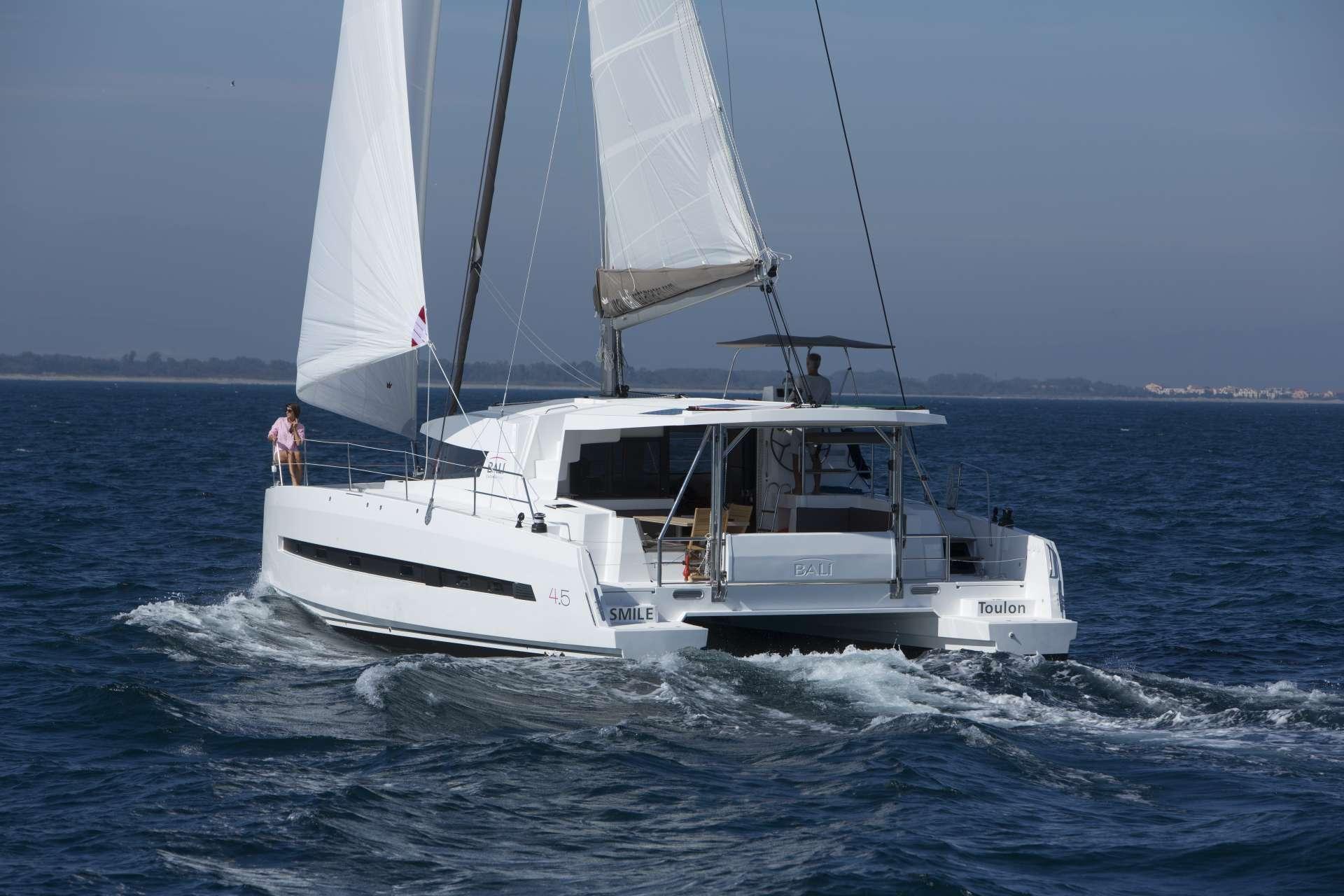 Catamaran Charter Medcat4