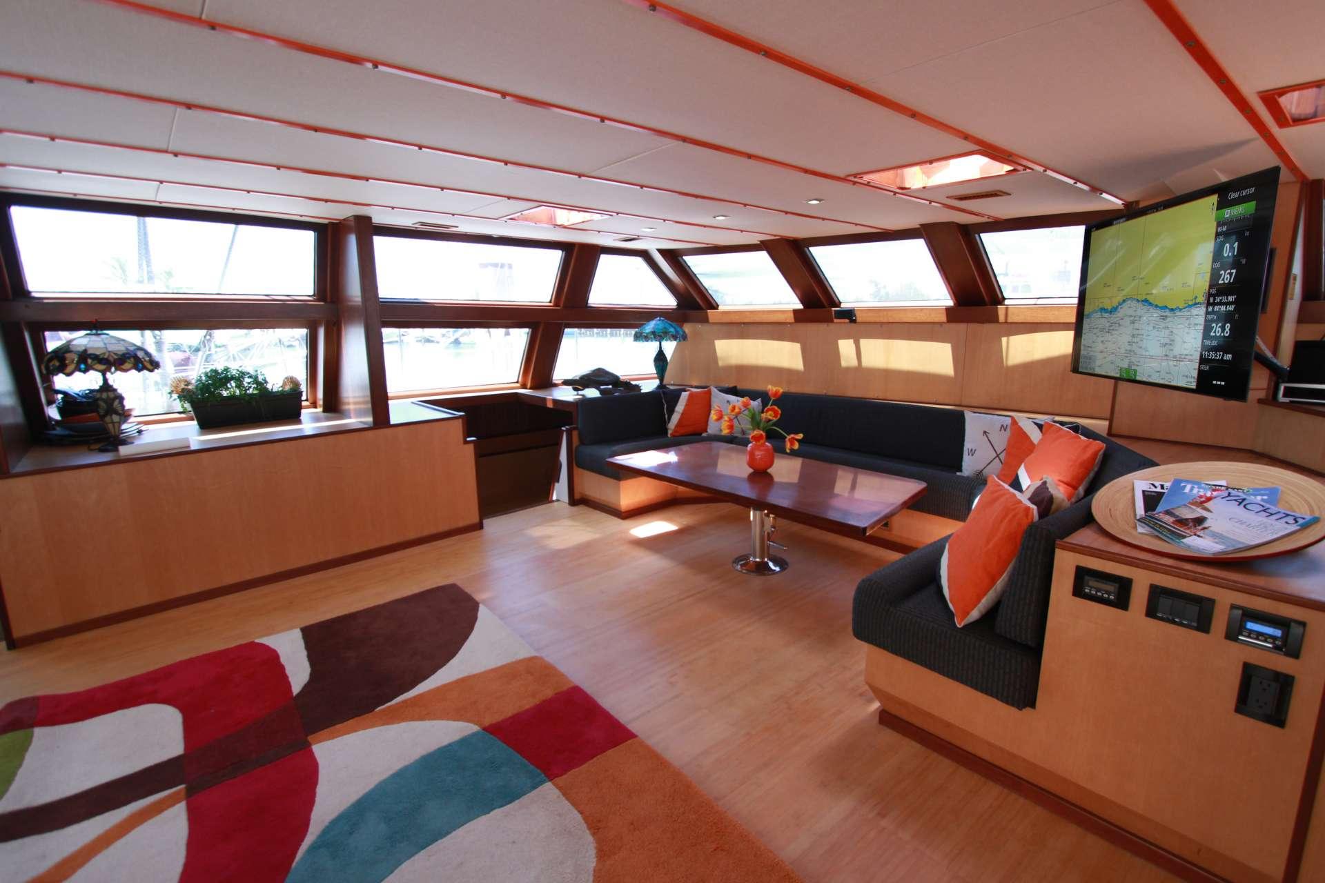 Catamaran Charter Argo Navis