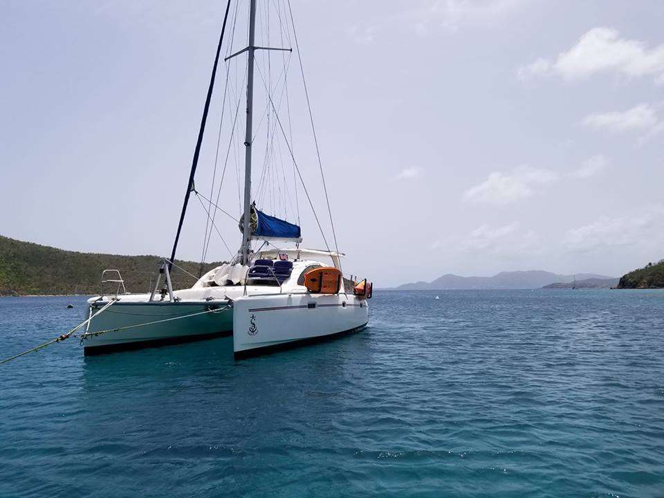 Catamaran Charter Salty Girl