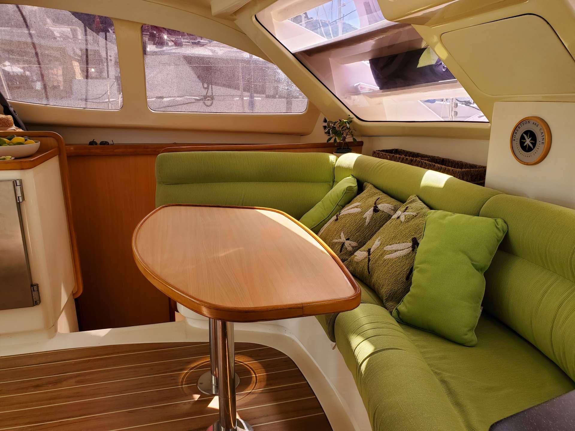 Cool shady cockpit