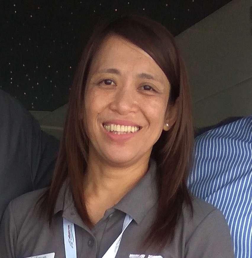 Annaliza Igle  Stewardess