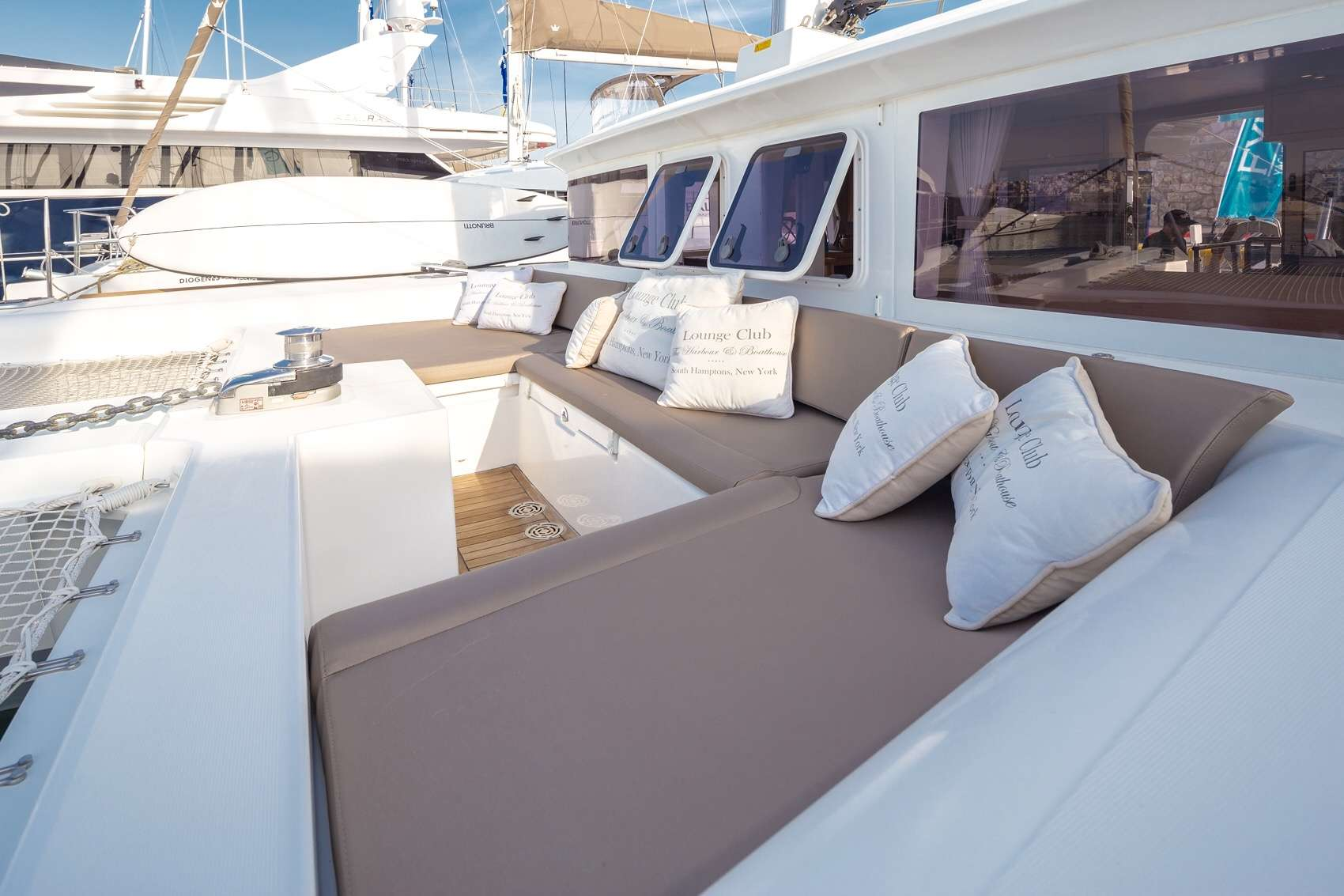 Forward Lounge and Sun Bathing