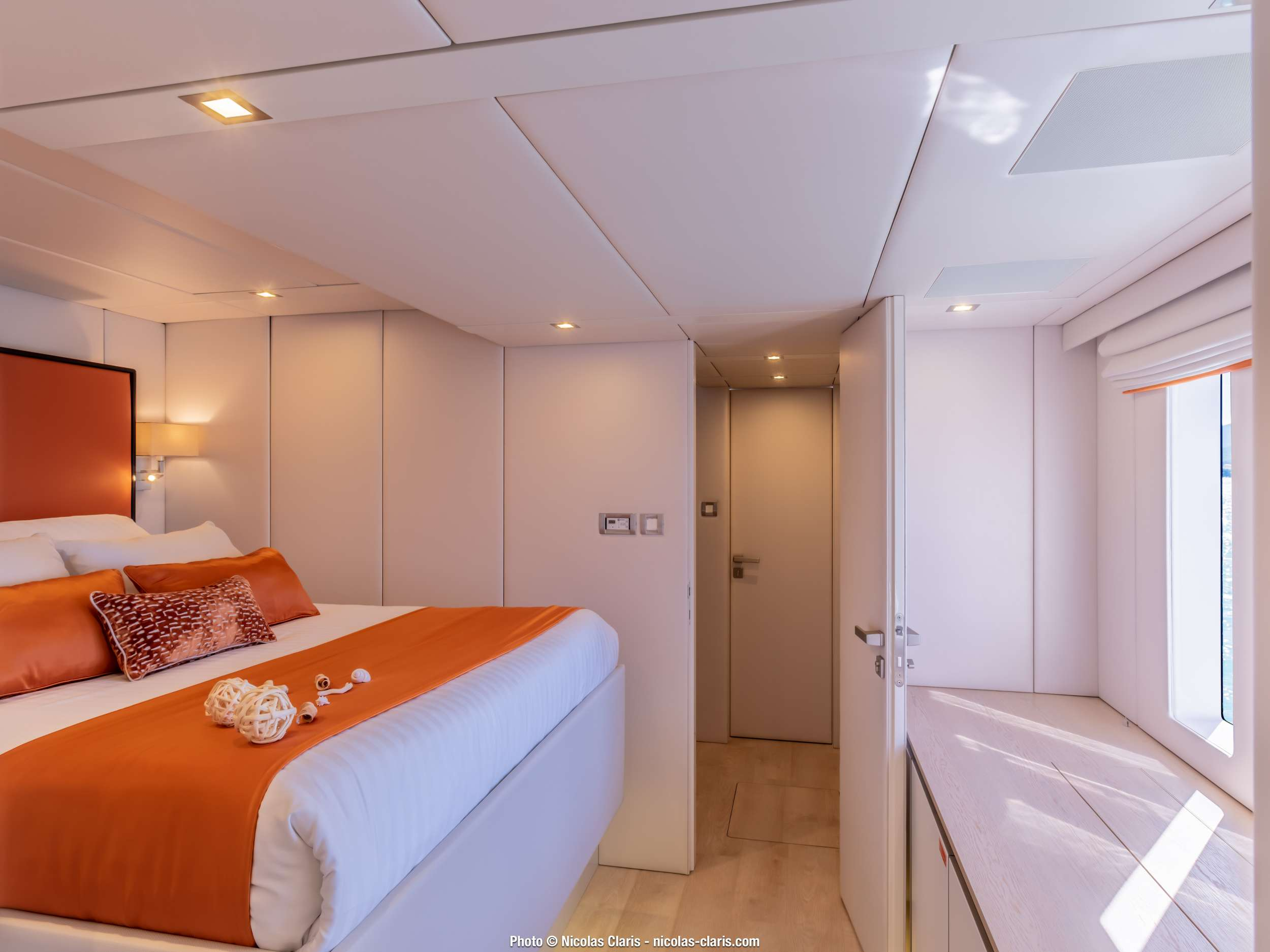 VIP cabin on main deck