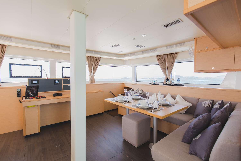 Salon - Sofa and Navigation Table