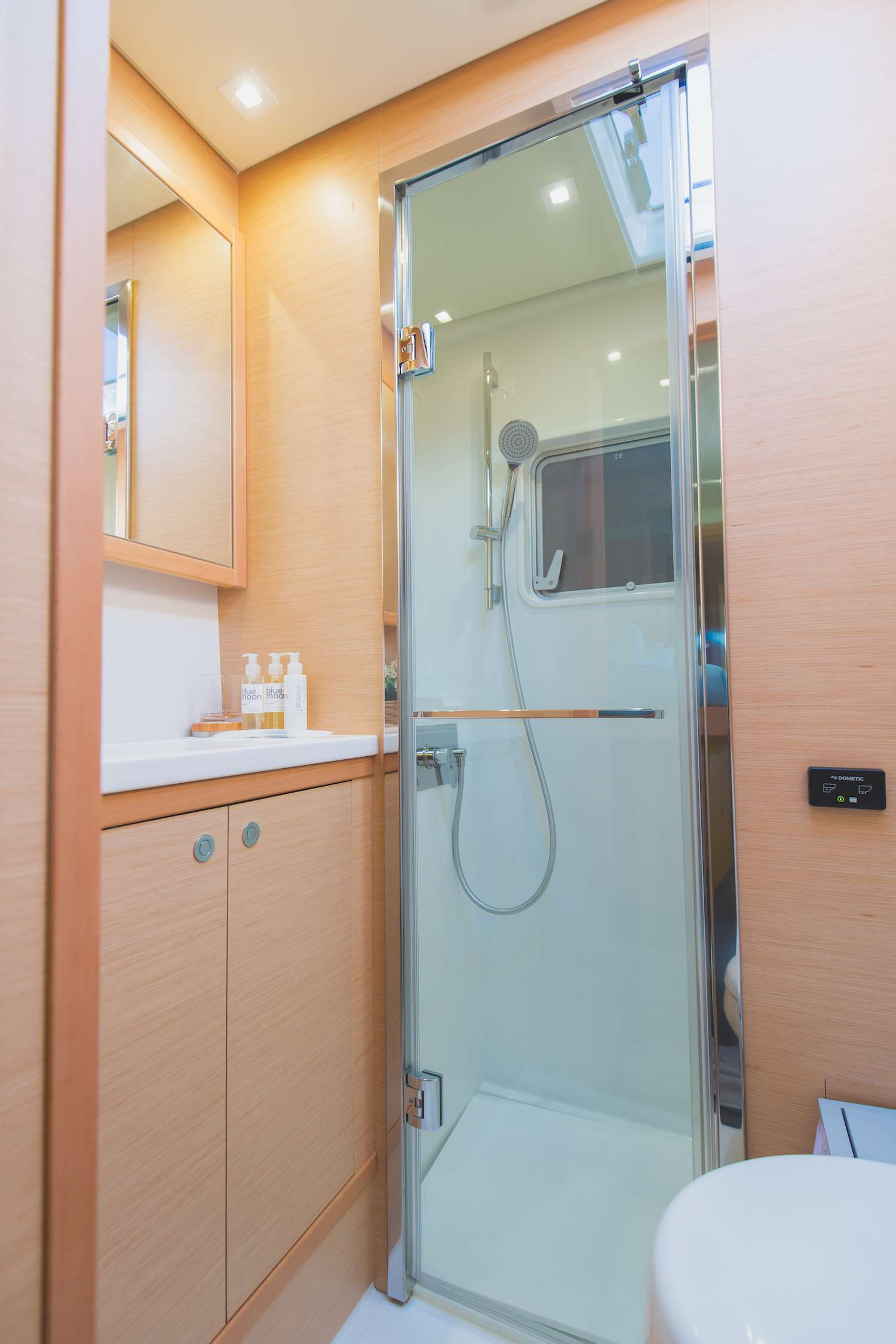 Bathroom with separate show