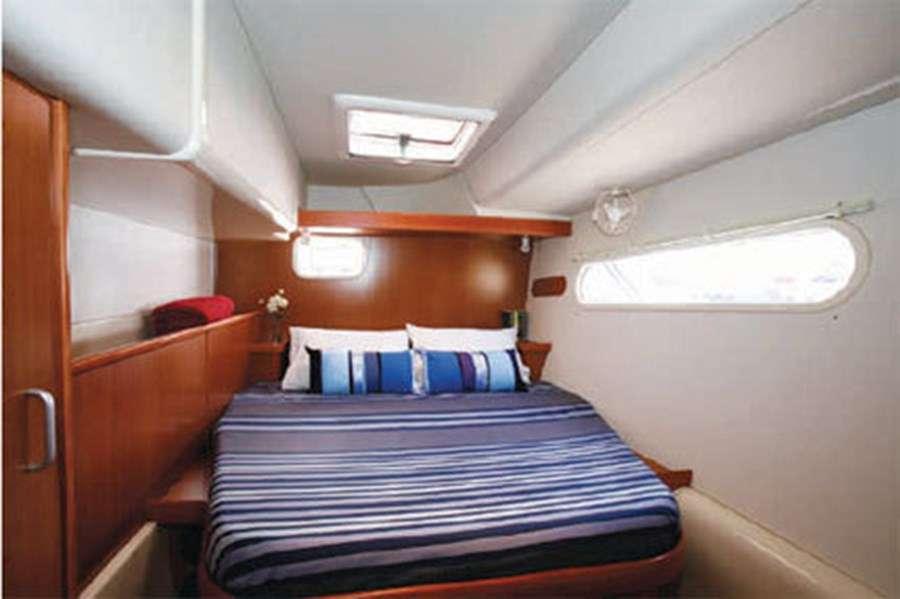 Aft port guest queen suite