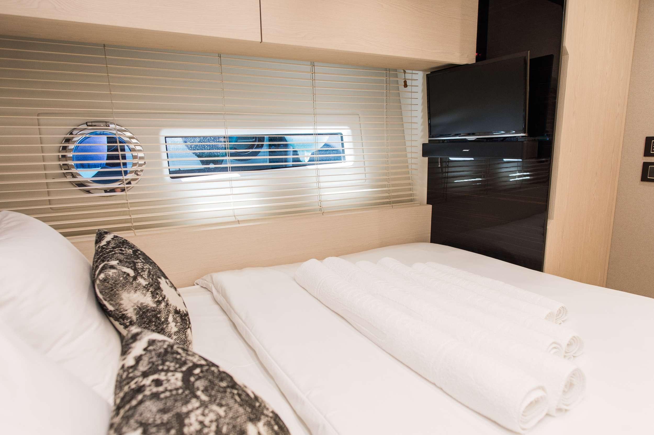 Port side guest cabin
