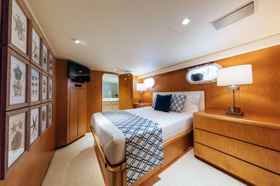 VIP Stateroom 1 - Queen Bed