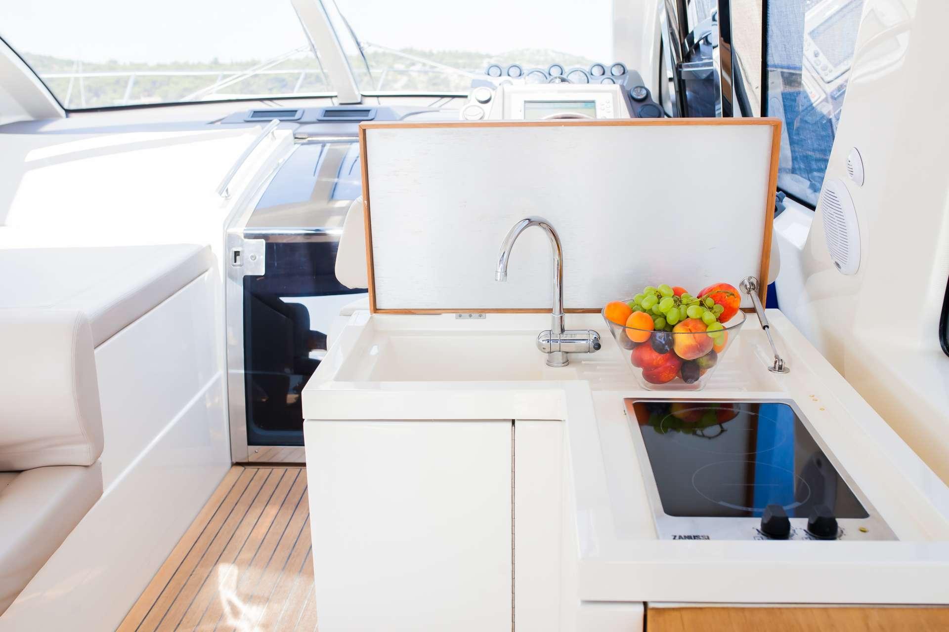 Moonraker Yacht Charter Motor Boat - Ritzy Charters