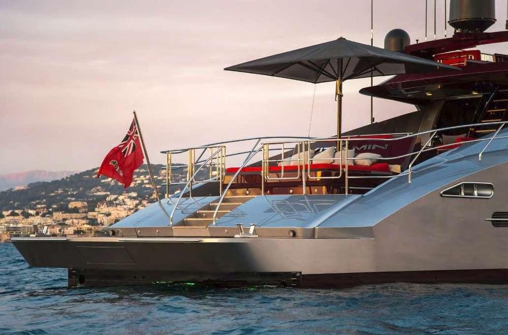 motor yacht KJOS