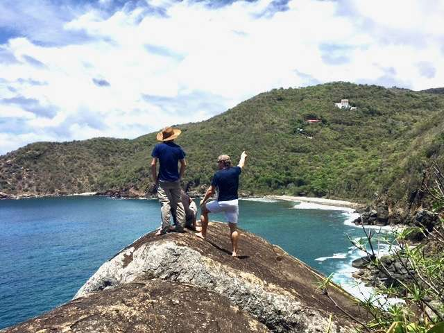 Hiking in the BVI