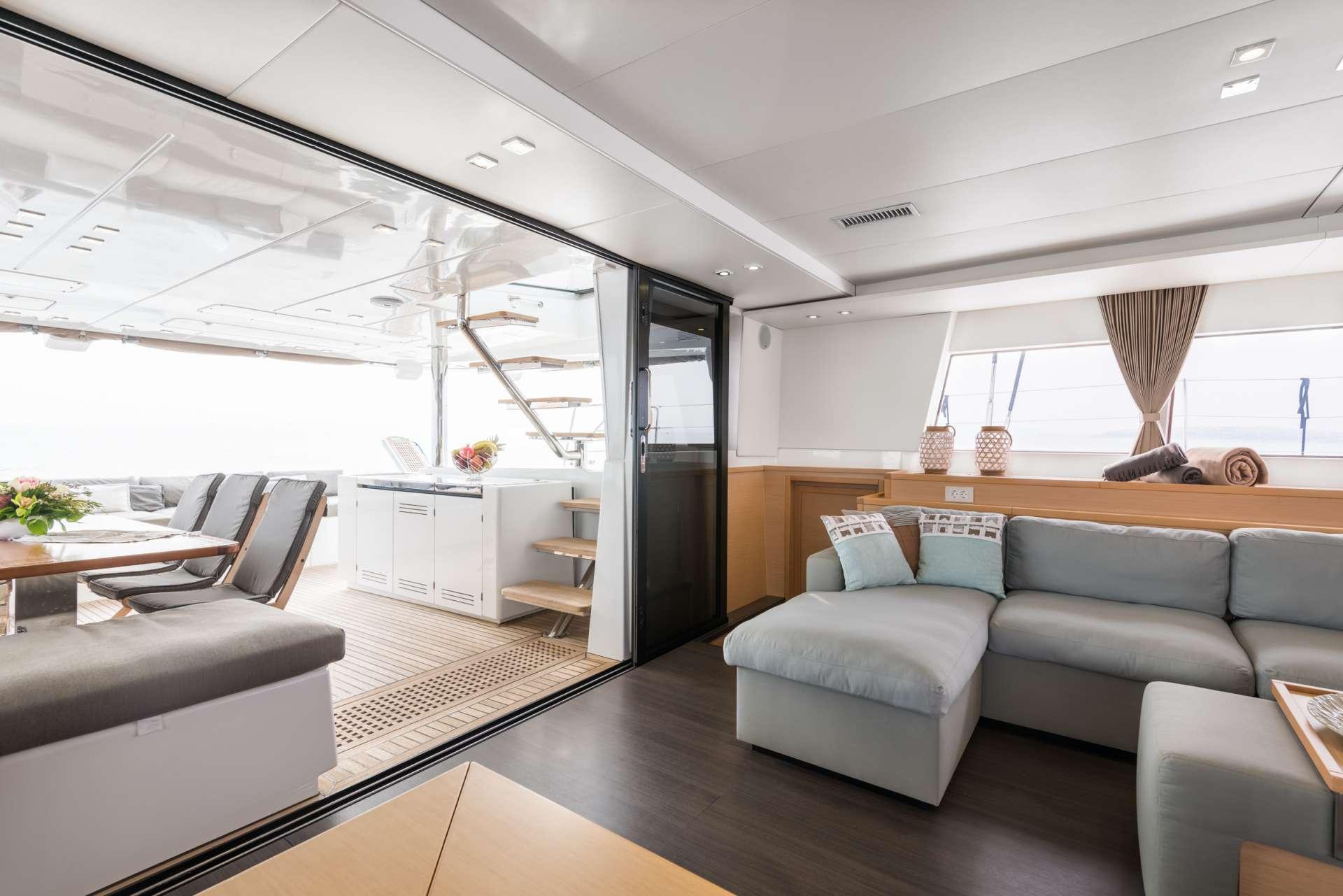 Catamaran Charter Selene