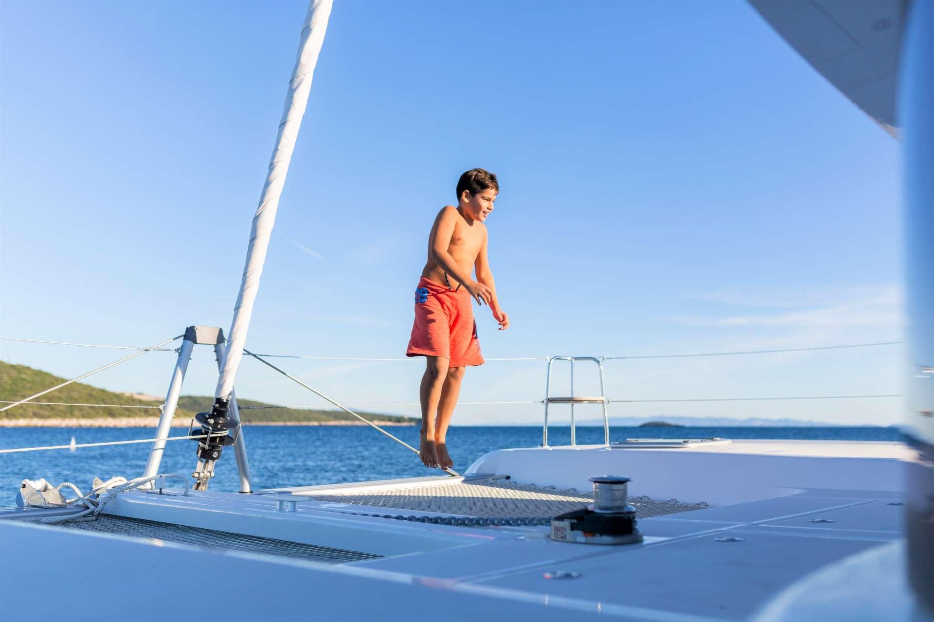 Catamaran Charter Bossa Nova
