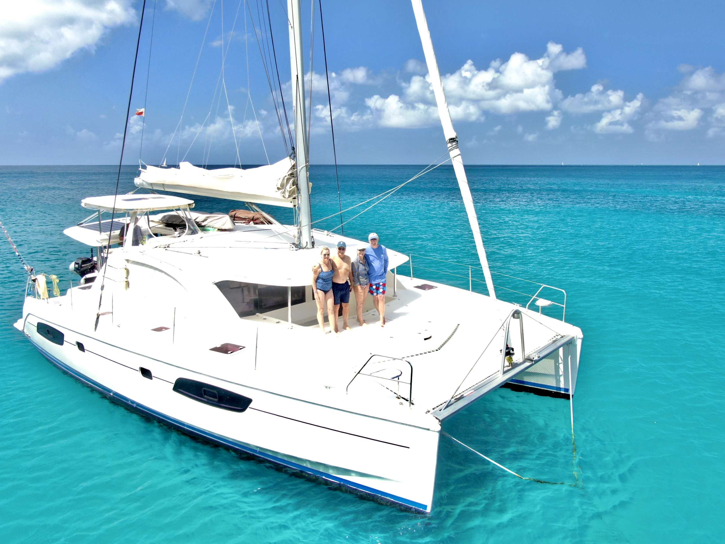 Catamaran Charter Groovy