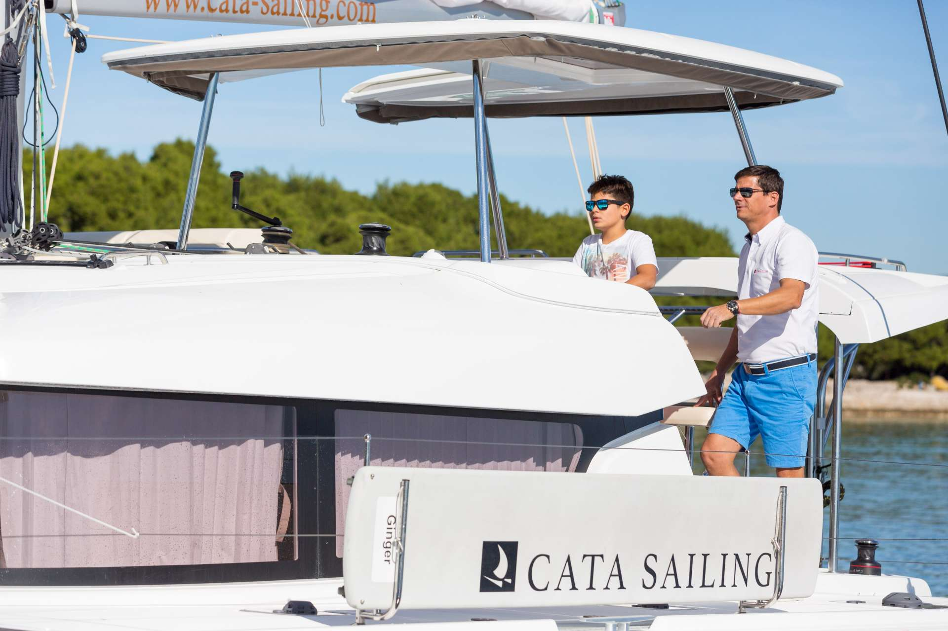 Catamaran Charter Ginger