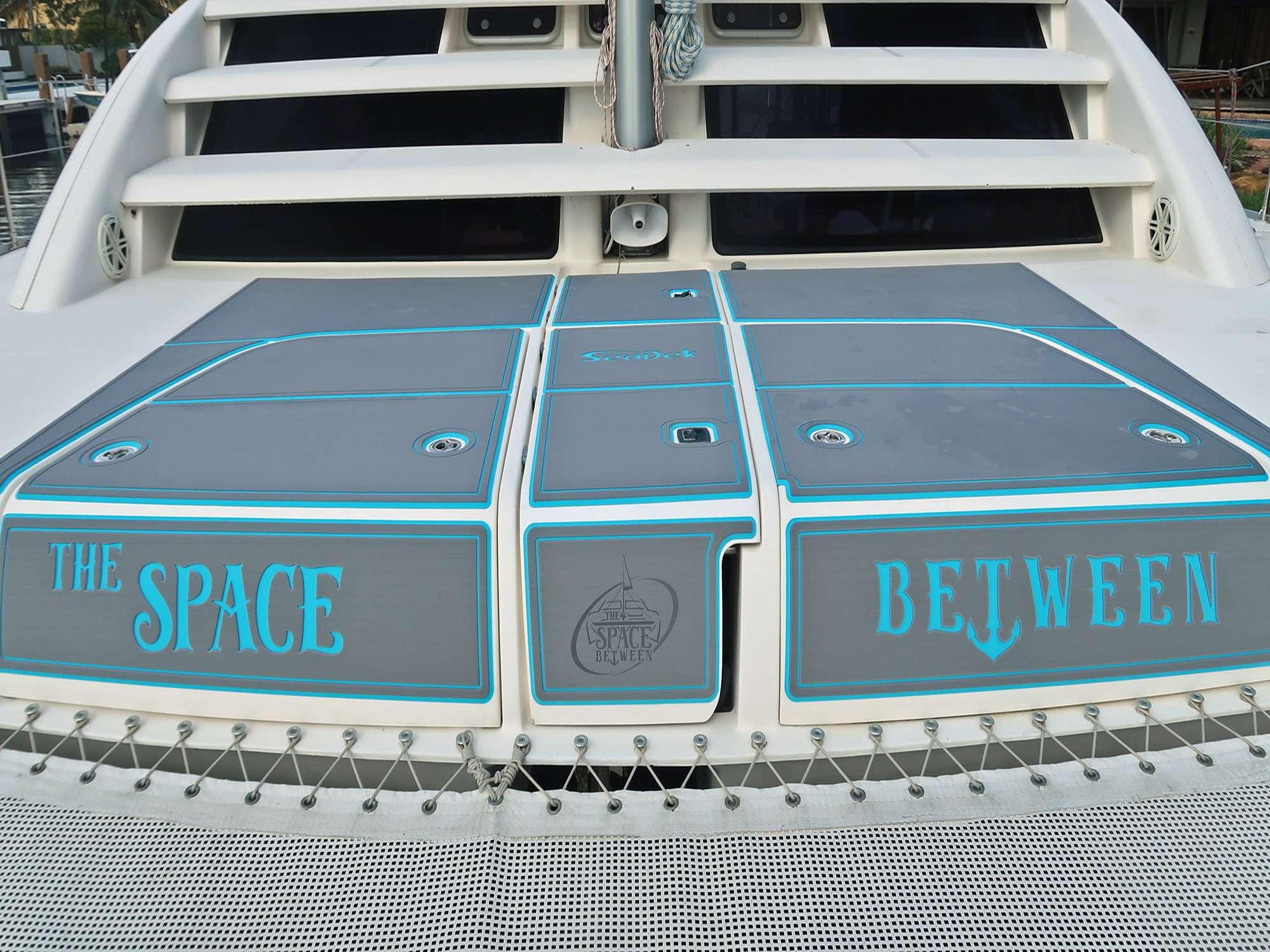 Catamaran Charter The Space Between