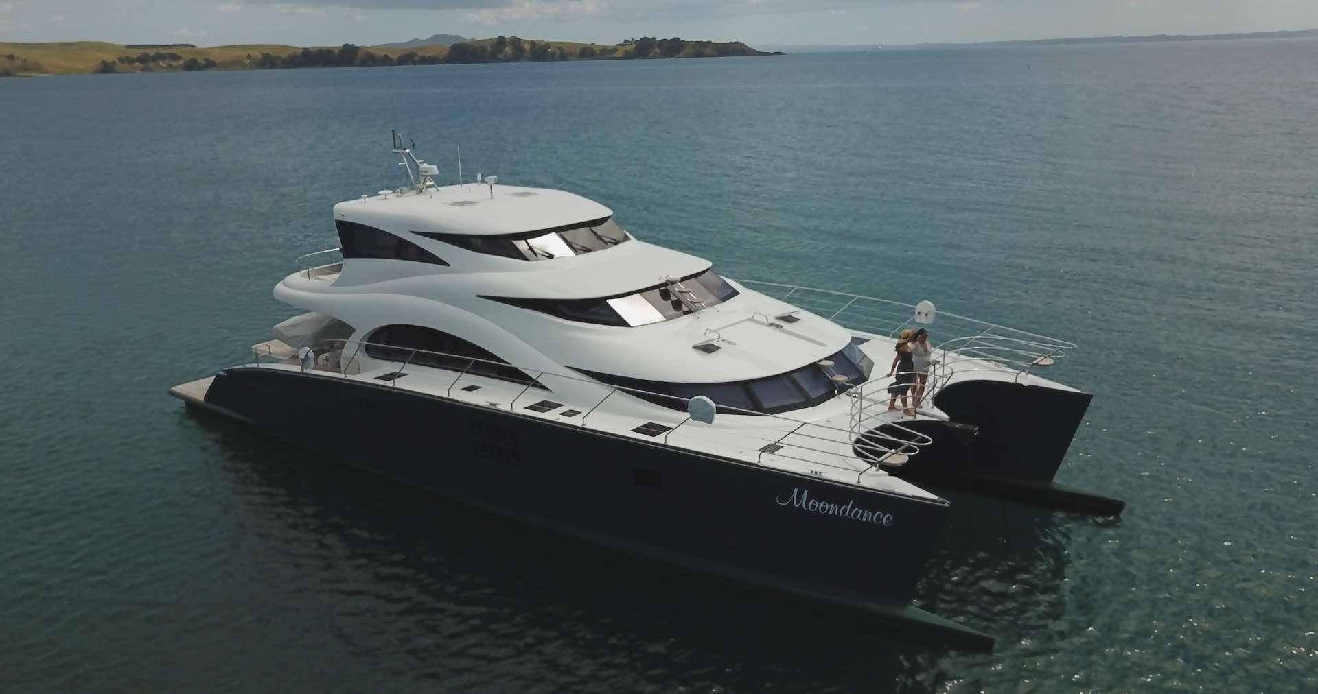 Catamaran Charter Moondance
