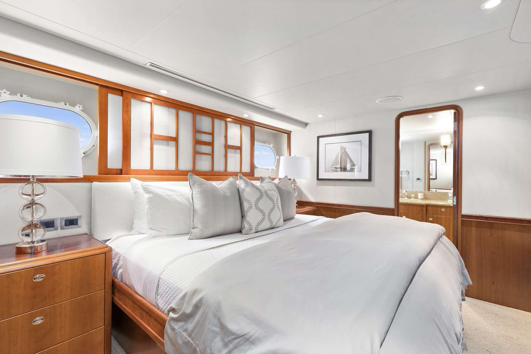 (2) Identical King guest staterooms