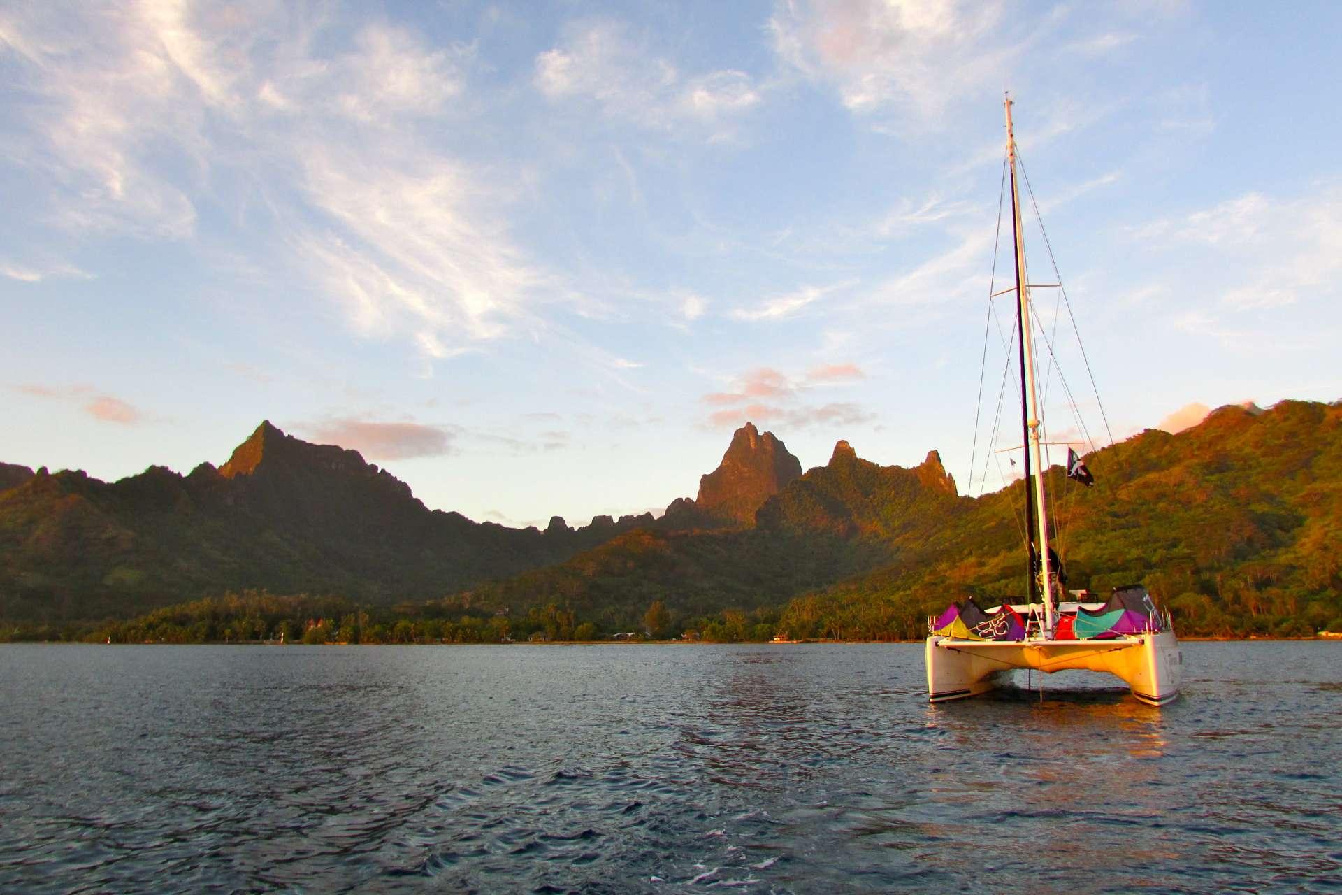 Sailing Yacht Tohora