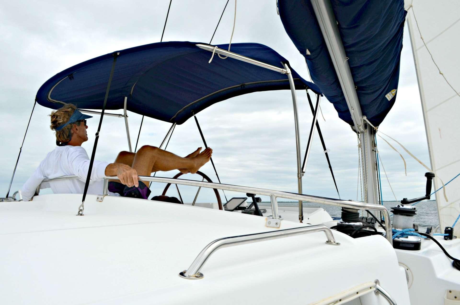 Catamaran Island Girl