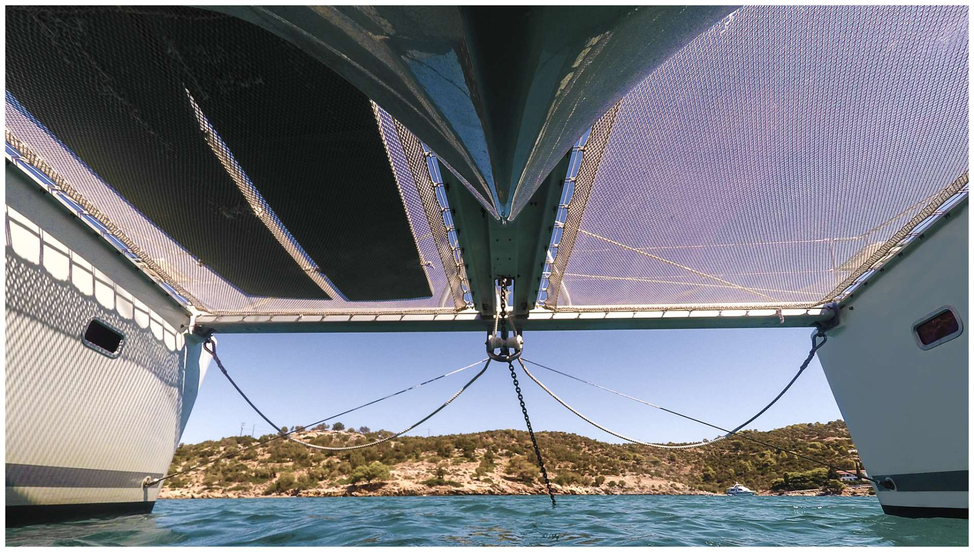 Catamaran Charter Twin Pride