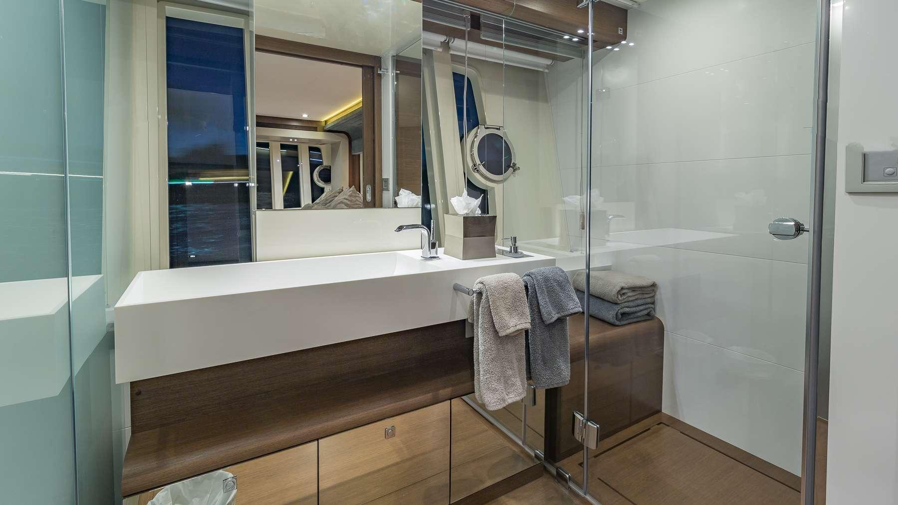Master Cabin Shower/Sink