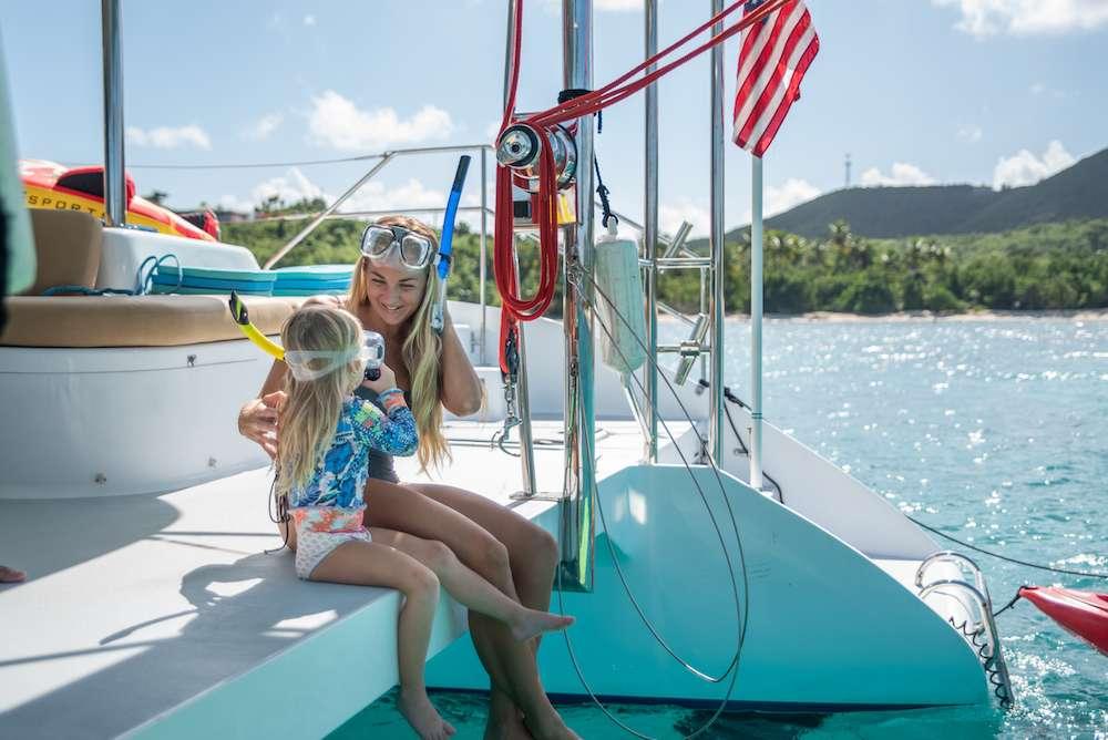 Catamaran Charter Silver Girl