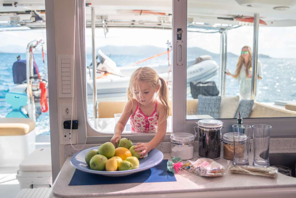 Catamaran Silver Girl