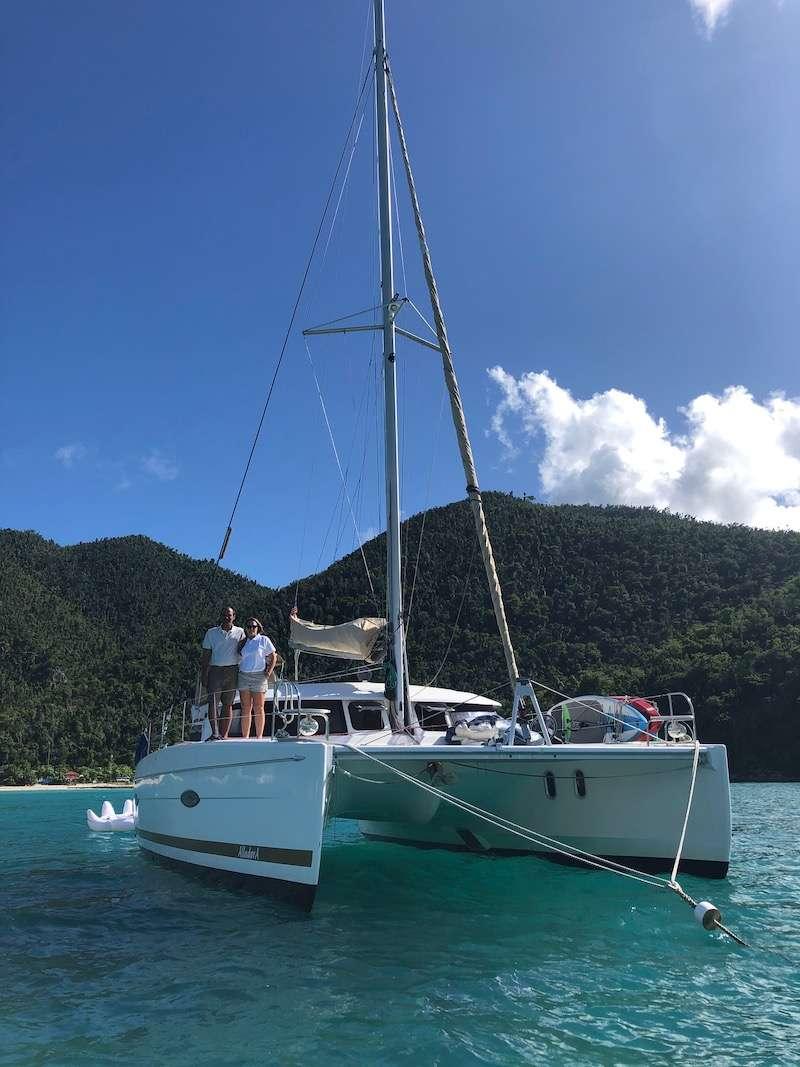 Catamaran Charter Alladora