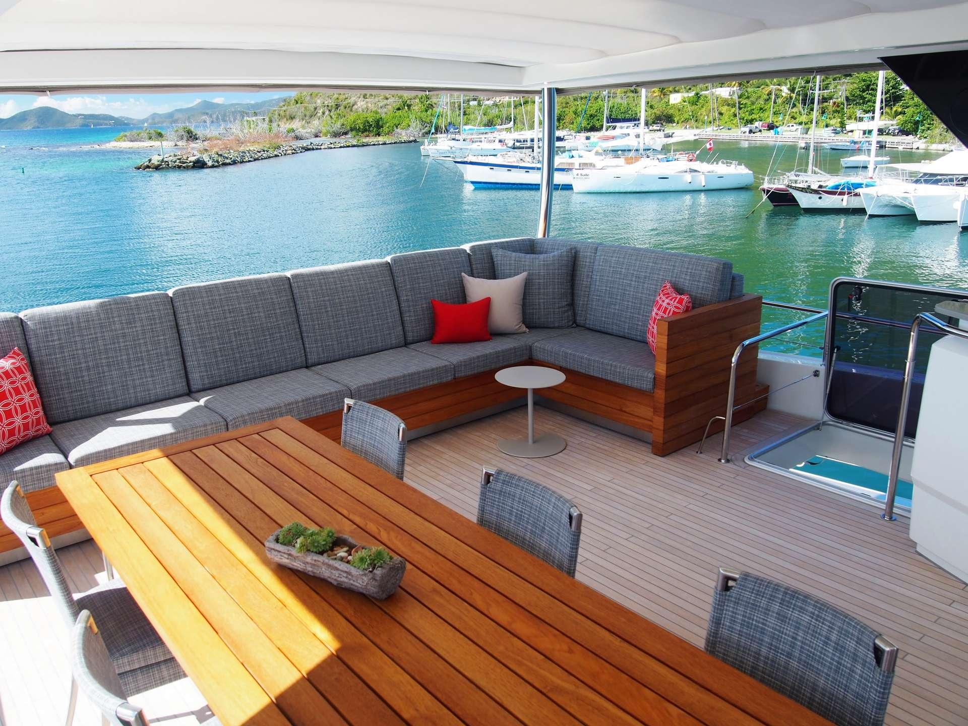 Custom designed upper deck