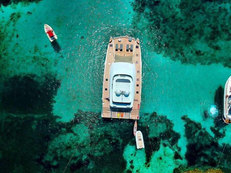 Crystal Clear waters of Croatia