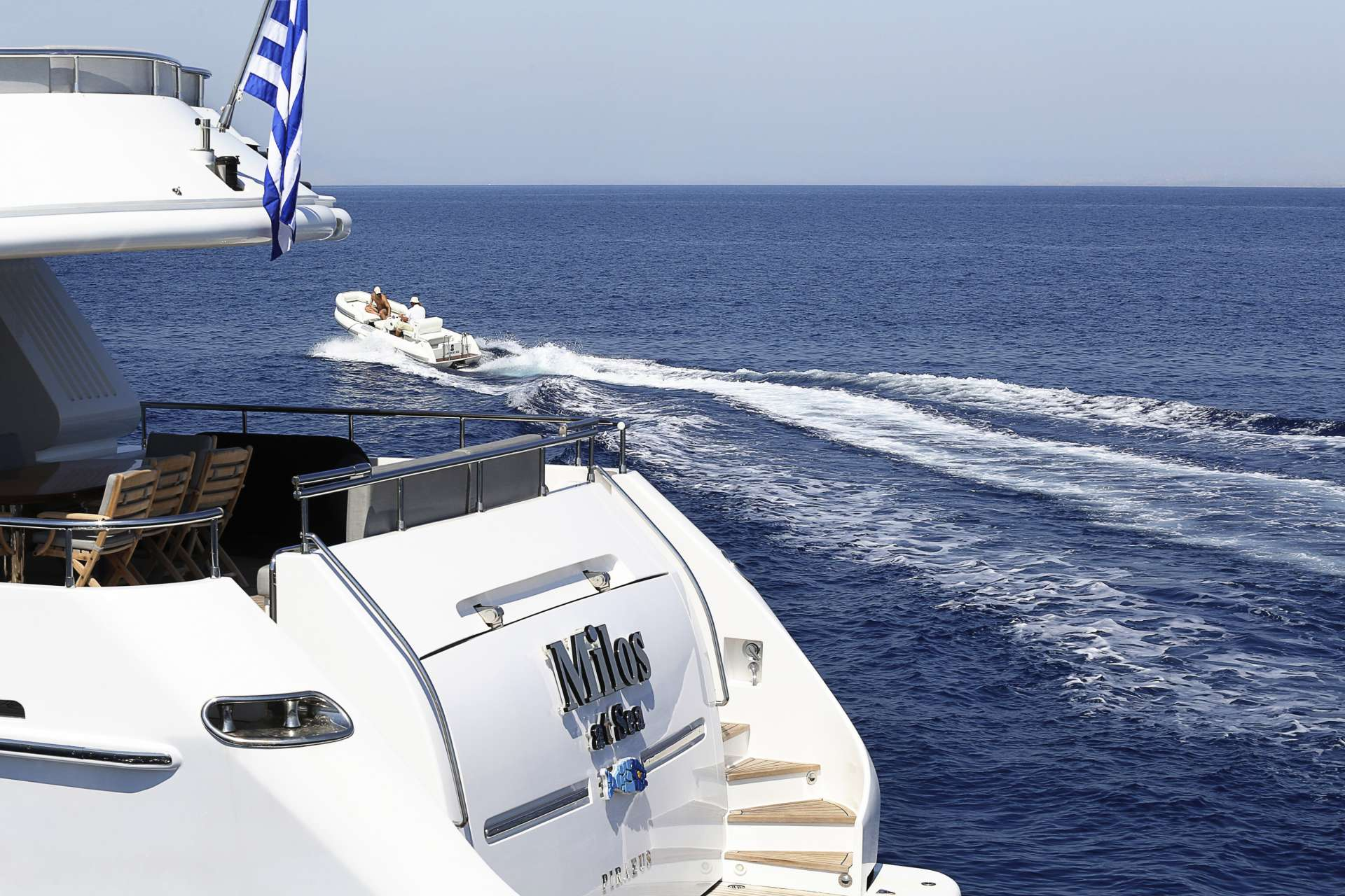 motor yacht MILOS AT SEA
