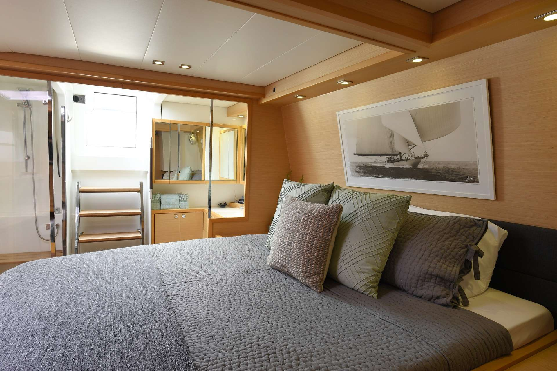 Master Cabin with En-suite Head