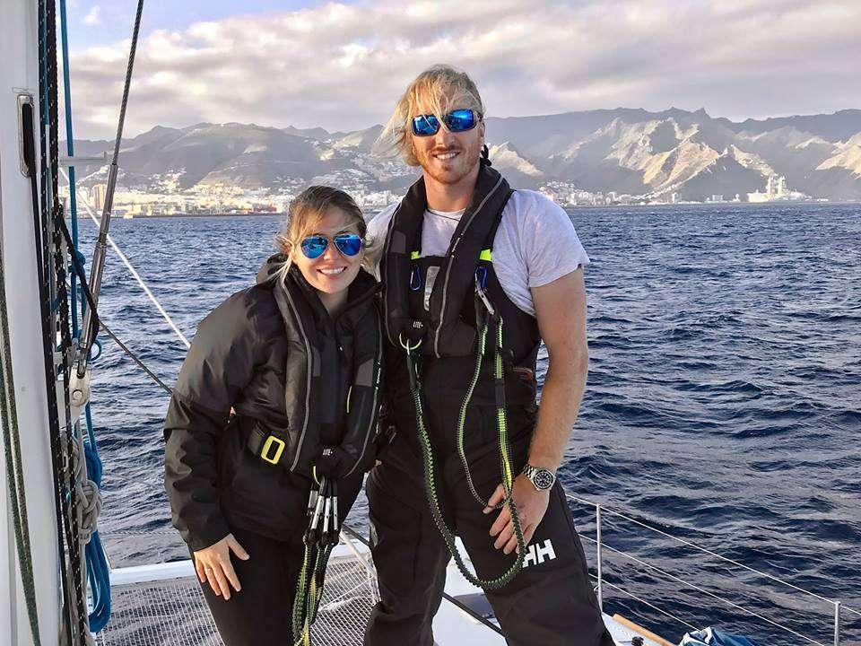 Tyler + Erika on their Atlantic Crossing with Viramar