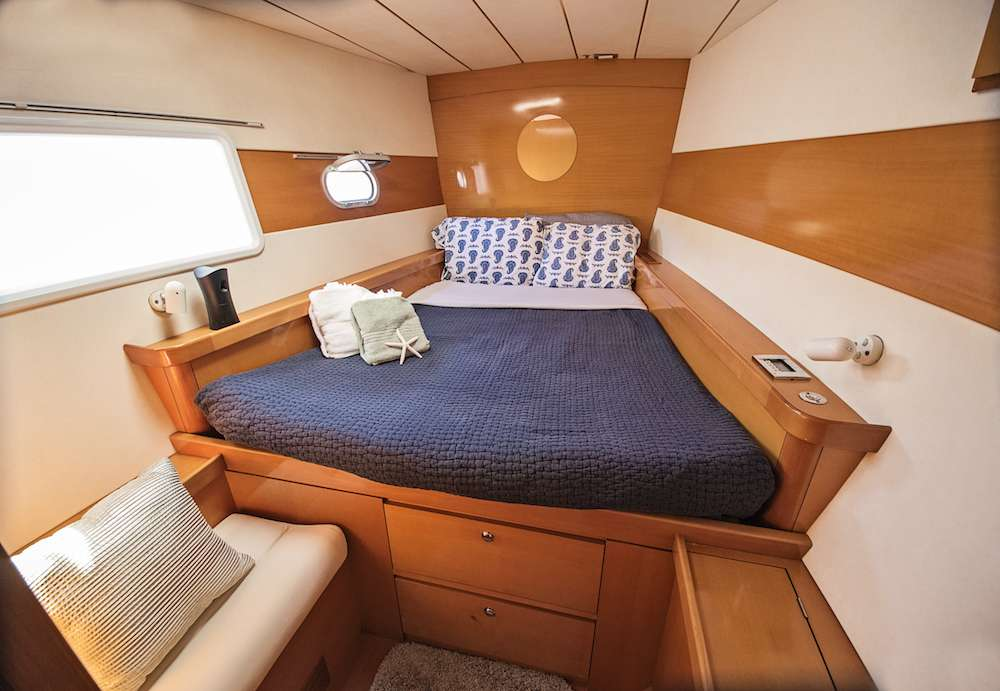 Spacious, Queen Cabins