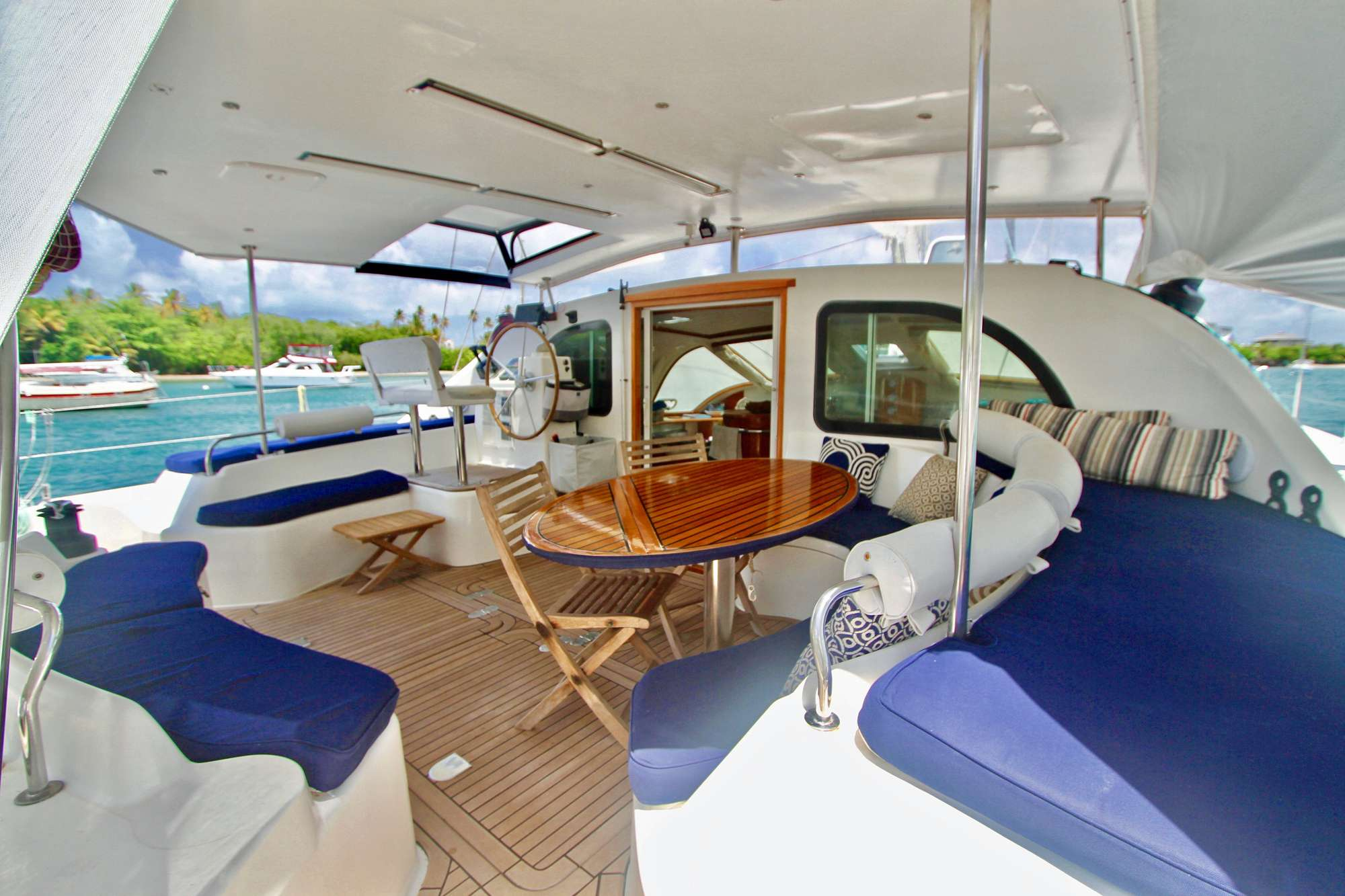 Aft Deck and Cockpit