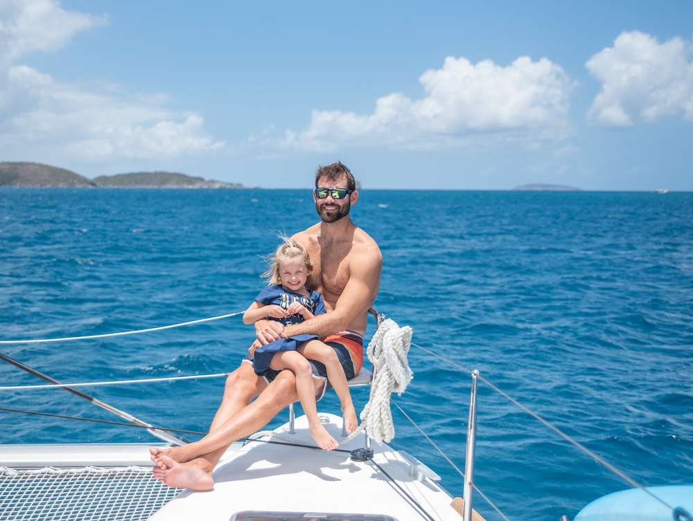 Catamaran Charter Floatation Therapy