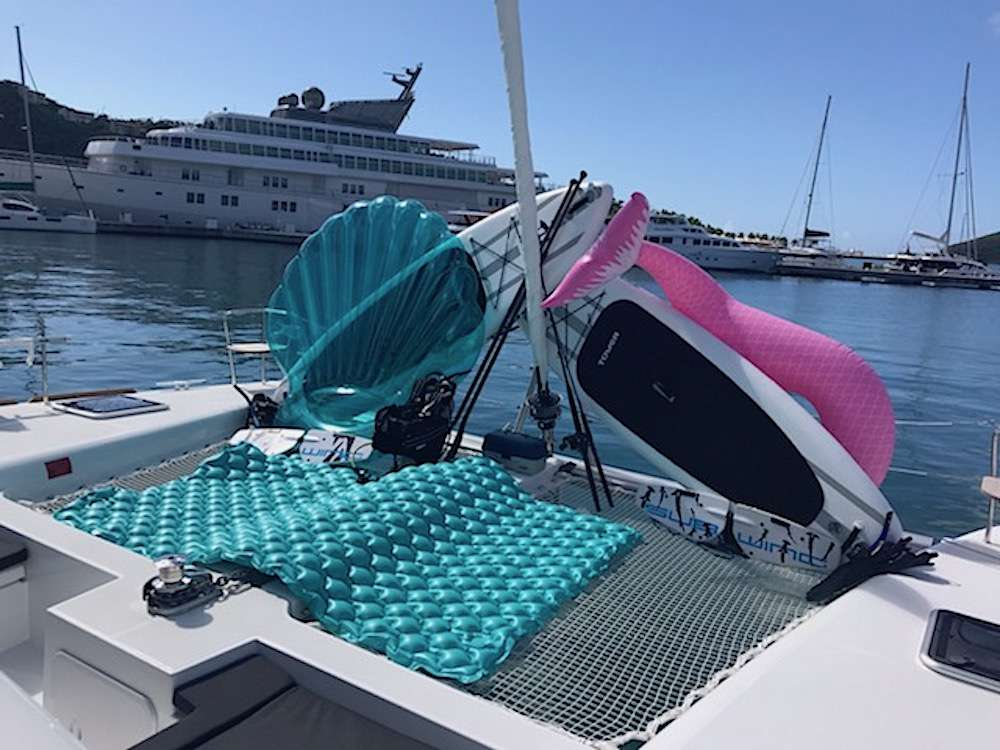 Catamaran Charter Floatation Therapy