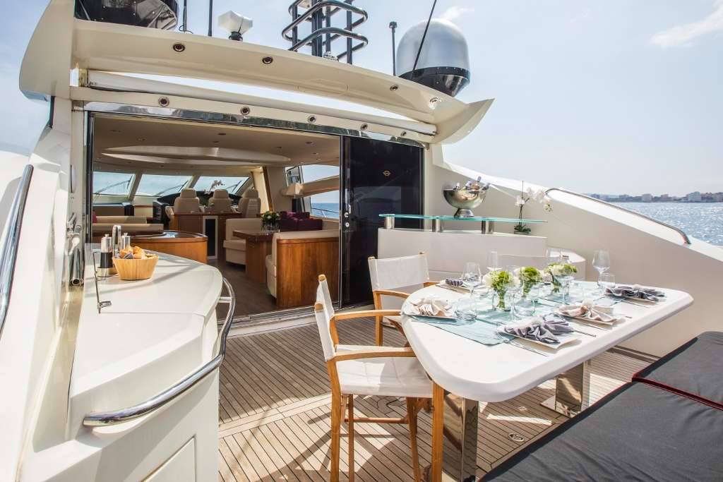 Exceso - Aft Deck