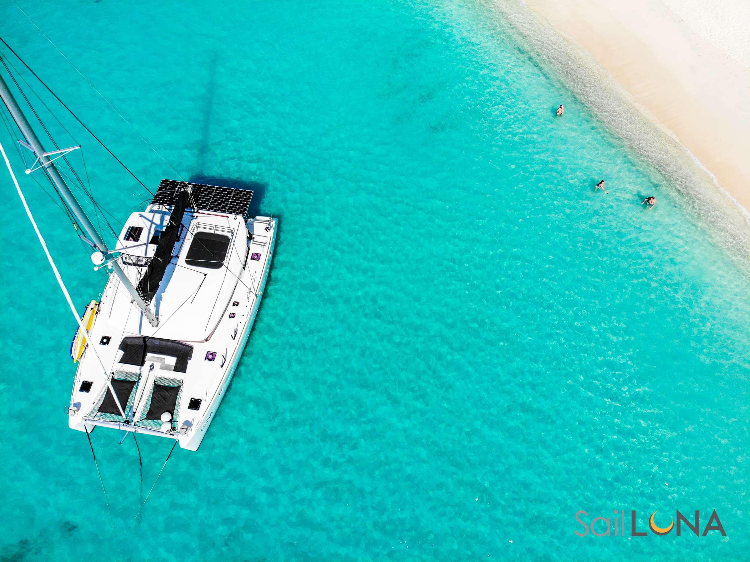 Catamaran Charter Luna