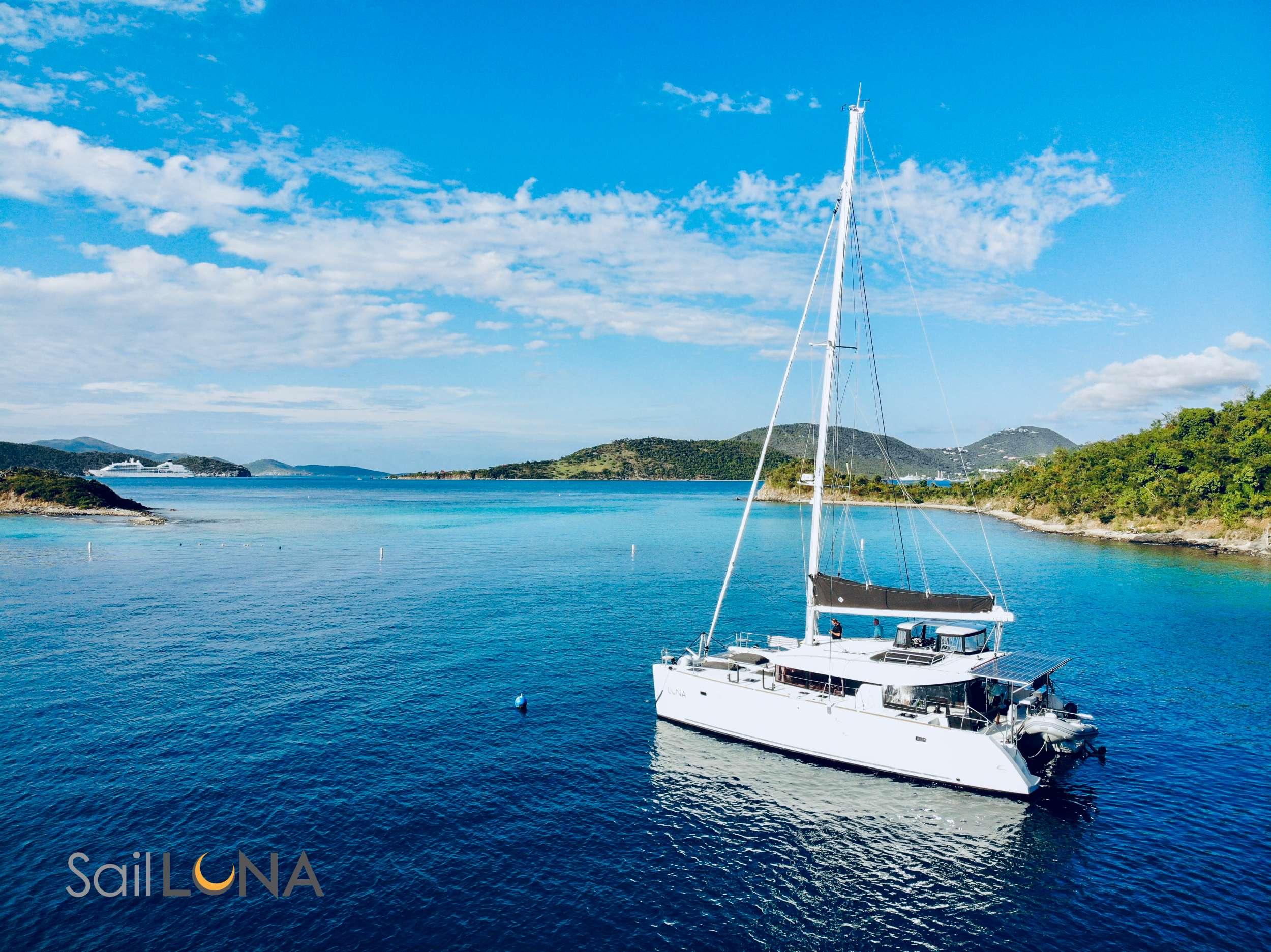 Get that far away feeling on a bespoke island-hopping adventure aboard Luna.