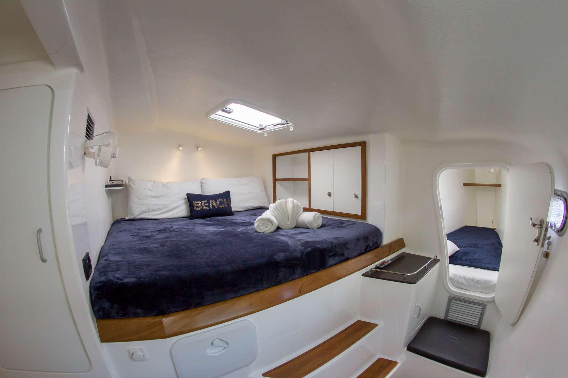 Voyage 480 Sailing